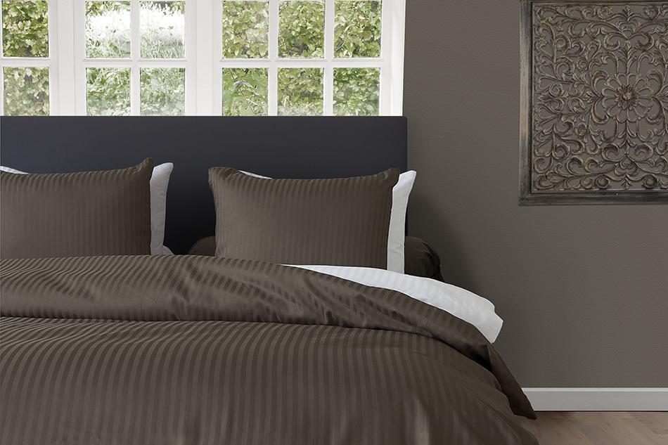 hnl uni mako satin bettw sche oder spannbettlaken in dark. Black Bedroom Furniture Sets. Home Design Ideas